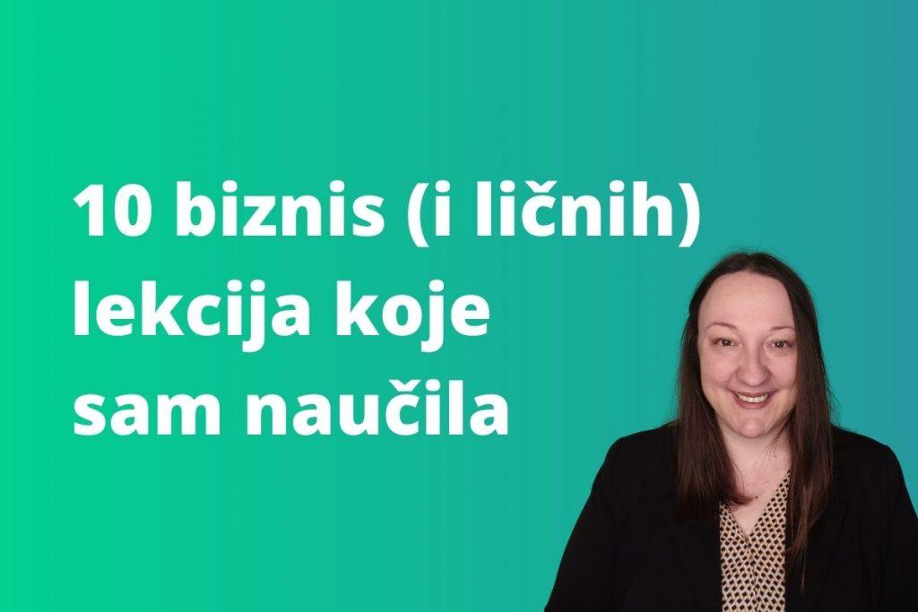 Karolina Herbut i biznis lekcije