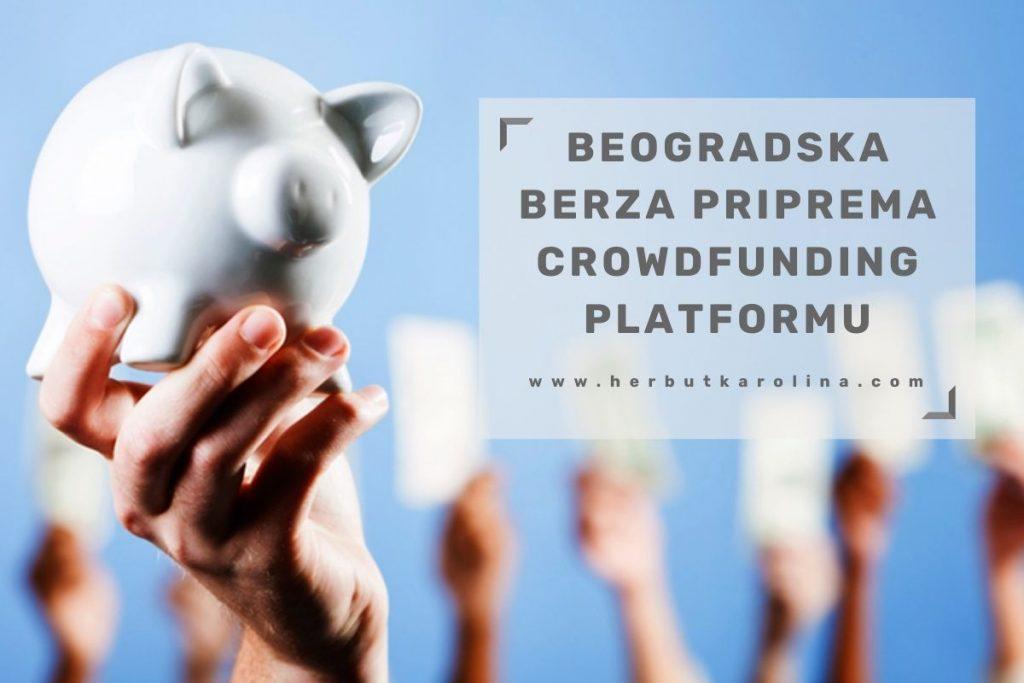 Beogradska berza priprema crowdfunding platformu