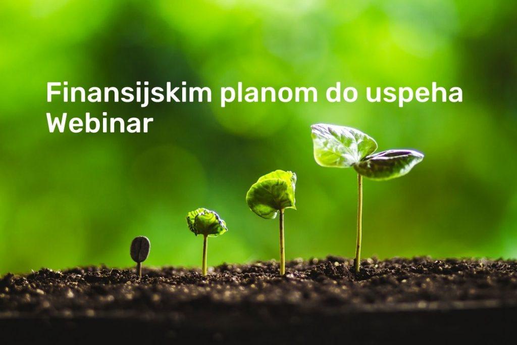 Webinar finansijskim planom do uspeha