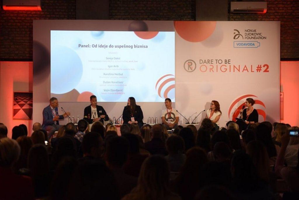 Gostovanje: O finansijama i preduzetništvu na Dare to be Original #2 konferenciji u organizaciji Novak Đoković Fondacije