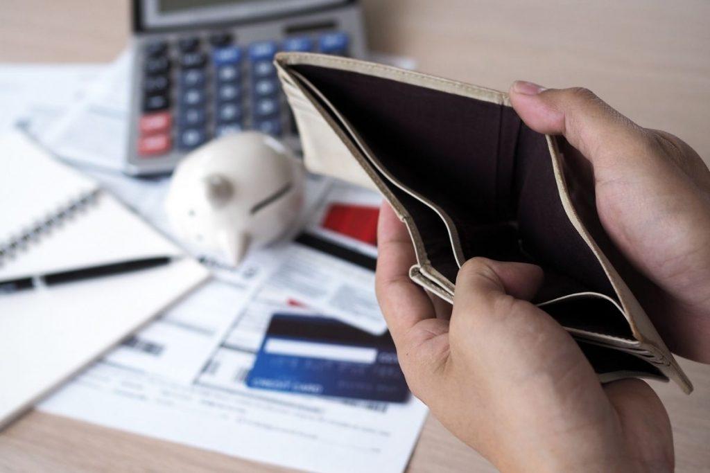 Stresna situacija usled nedostatka novca