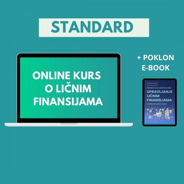 STANDARD online kurs o ličnim finansijama - Karolina Herbut